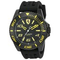 Scuderia Ferrari Men's XX Kers Quartz Black Silicone Strap Watch